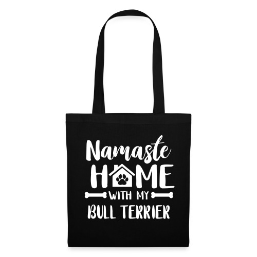 Namaste Home bullterrier - Stoffbeutel