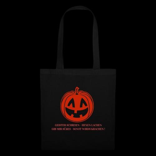 Halloween Spruch Promotion - Stoffbeutel