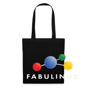 Fabulinus wit - Tas van stof