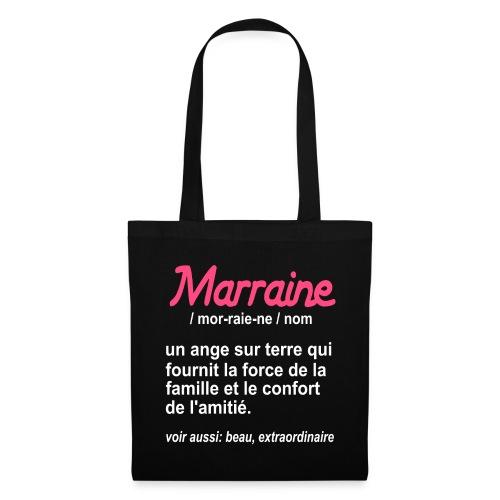 Marraine Définition - Tote Bag