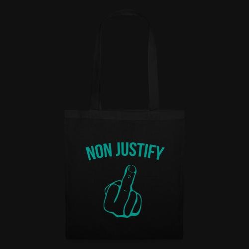 NonJustify Merchandise - Stoffbeutel