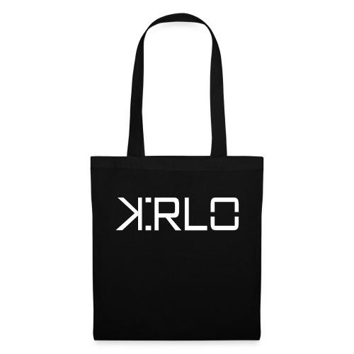 Kirlo Logo Blanco - Bolsa de tela