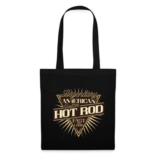 Le legendarie Hot Rod americane - Borsa di stoffa