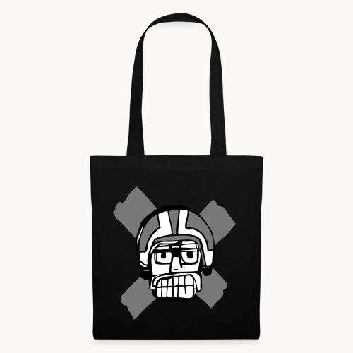 Motard Junior - BlackAndWhite - Tote Bag