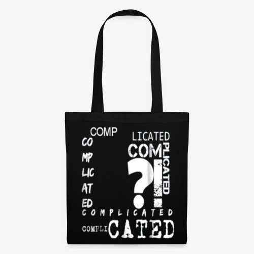 complicated - Tote Bag