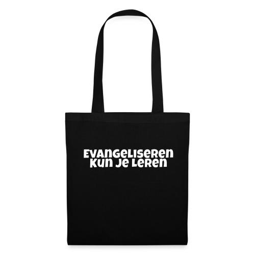Evangeliseren Kun Je Leren - Tas van stof