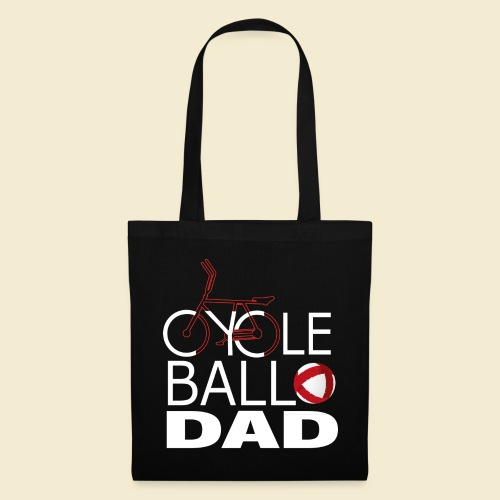Radball   Cycle Ball Dad - Stoffbeutel