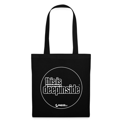 This is DEEPINSIDE Circle logo white - Tote Bag