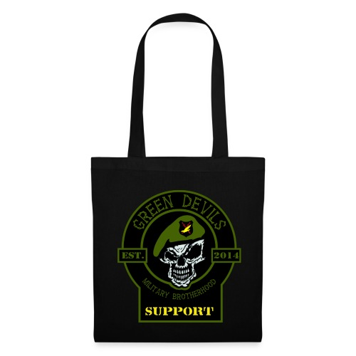 2019 Green Devils Military Brotherhood Support - Stoffbeutel