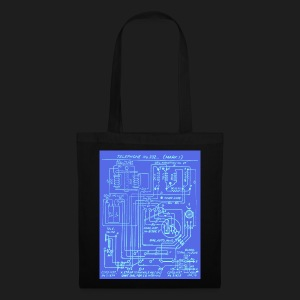Telephone Circuit - Tote Bag