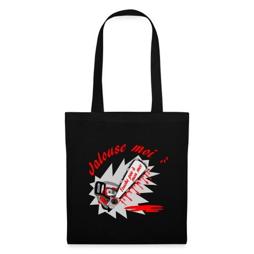 t shirt jalouse moi amour possessif humour FS - Tote Bag