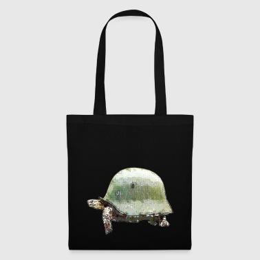 TORTUGA MILITARY HELMET - Tote Bag