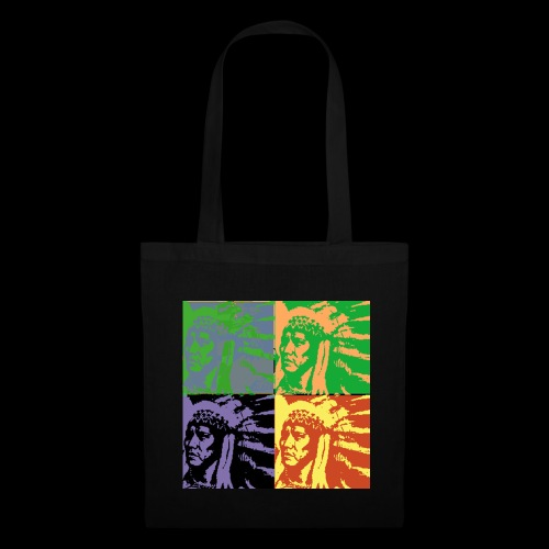 POP ART AMERINDIEN - Tote Bag