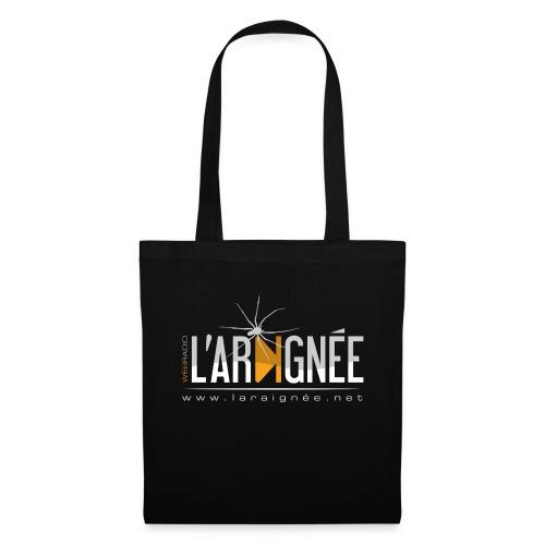 L'Araignée, le logo clair pour fond foncés - Tote Bag