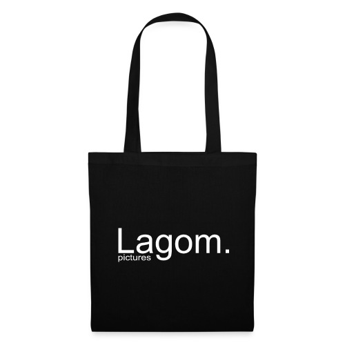 Lagom Pictures Logo Light - Tote Bag
