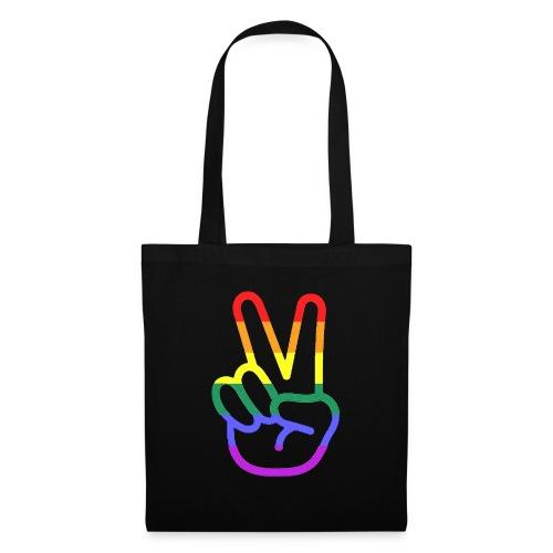Peace Hand - Stoffbeutel
