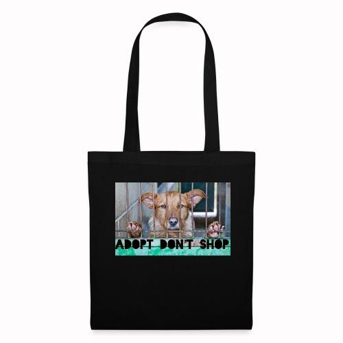 adopt don't shop - Tas van stof