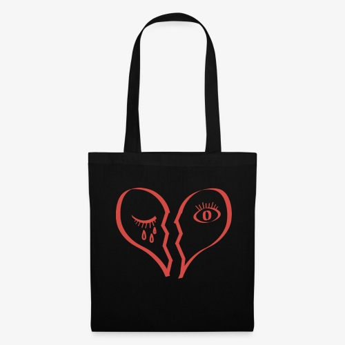 RED HEART - Stoffbeutel