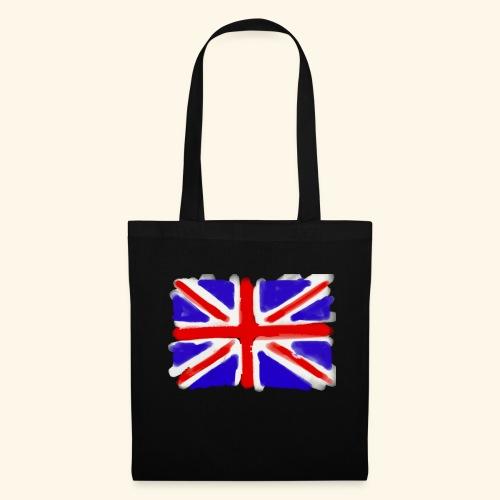 British flag in watercolours - Tygväska