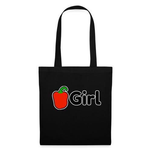 Paprika Girl logo - Tas van stof