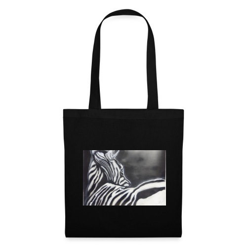 creation zebre fait main - Tote Bag