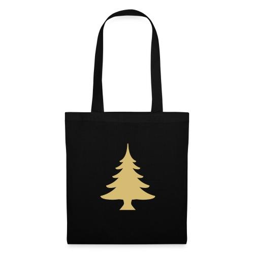 Weihnachtsbaum Christmas Tree Gold - Borsa di stoffa