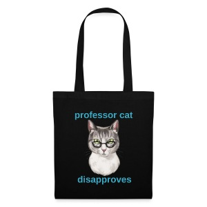 Professor Cat - Stoffbeutel