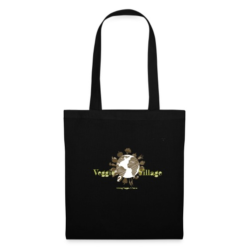 VeggieVillage Logo - Stoffbeutel