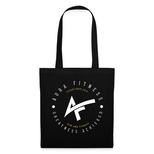 Aura Fitness BLACK/BLACK - Tote Bag