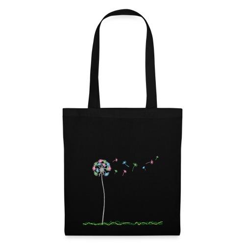 Peace Dandelion - Borsa di stoffa