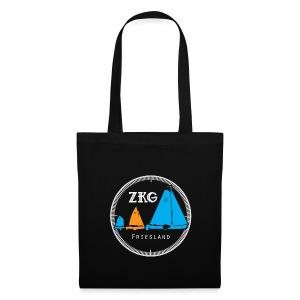 ZKG Logo wit - Tas van stof