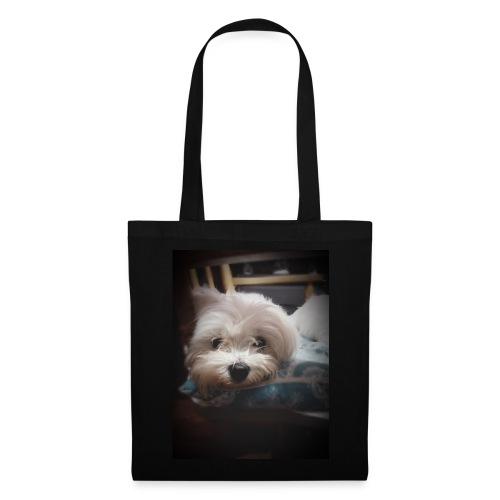 Pure White Pup - Tote Bag