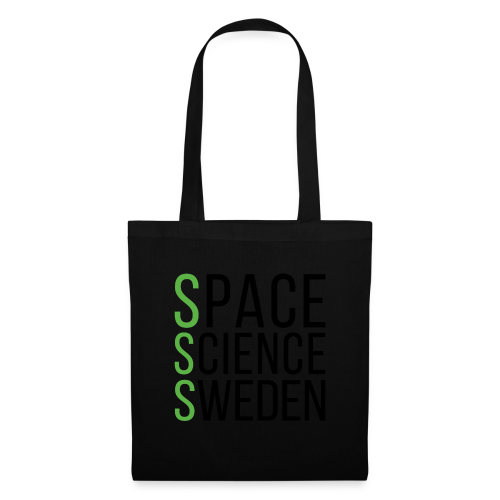 Space Science Sweden - svart - Tygväska