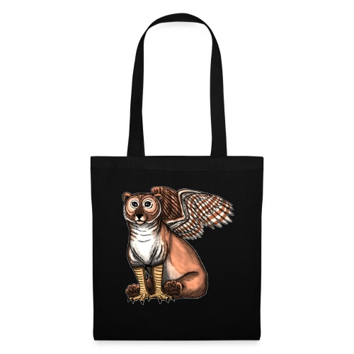 Bear Owl - The Cuter Cousin - Tote Bag