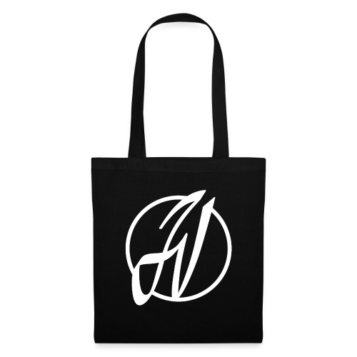 JV Guitars - logo blanc - Tote Bag
