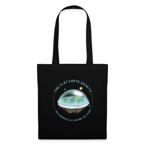 flat earth threadless - Tote Bag