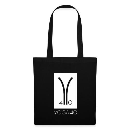 Y40 logotipo blanco - Bolsa de tela