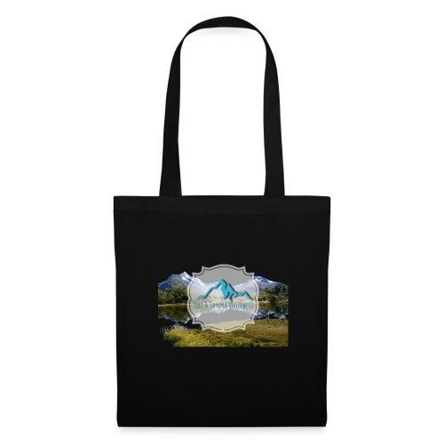 Logo mit Berglandschaft - Stoffbeutel