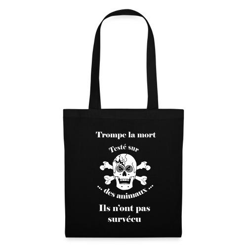 Trompe la mort «méchant» Test animal FC - Tote Bag