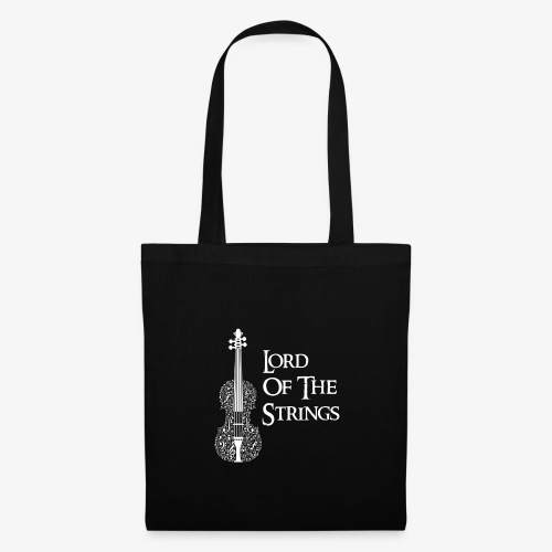 Lord of the Strings T-Shirt Englisch Violine - Stoffbeutel