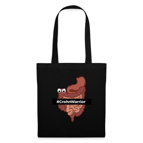 Diseño #CrohnWarrior - Bolsa de tela