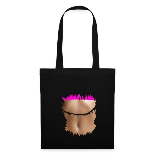 t shirt ventre plat brassiere rose - Tote Bag