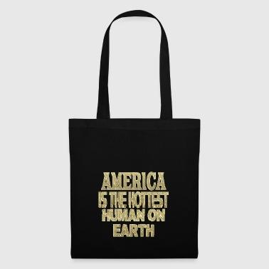 America - Borsa di stoffa