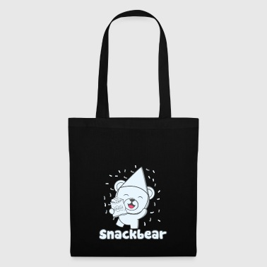 Snack bear / snack bear with hat - Tote Bag