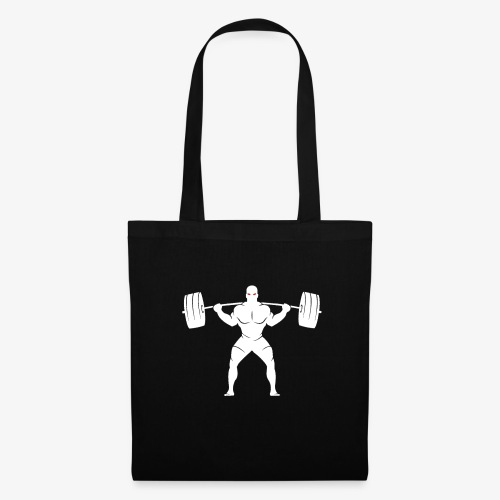 Lift Heavy White - Tote Bag