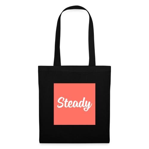 Steady Logo Square - Stoffbeutel