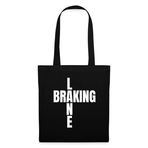 Braking Lane black - Stoffbeutel