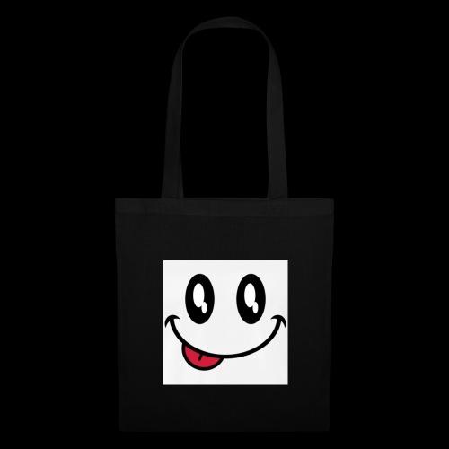 augen-smiley-zunge-t-shirts-maenner-premium-t-shir - Stoffbeutel