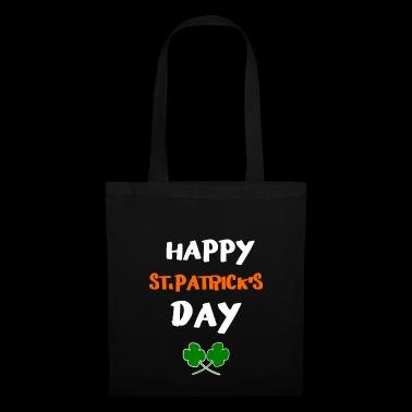 17.March Día de San Patrick feliz - Bolsa de tela