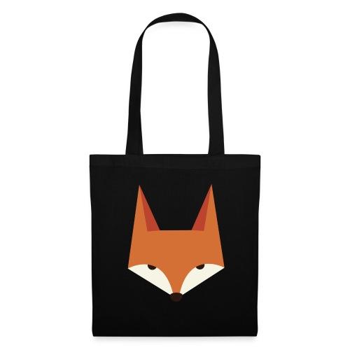 Fox Kopf RGB - Stoffbeutel